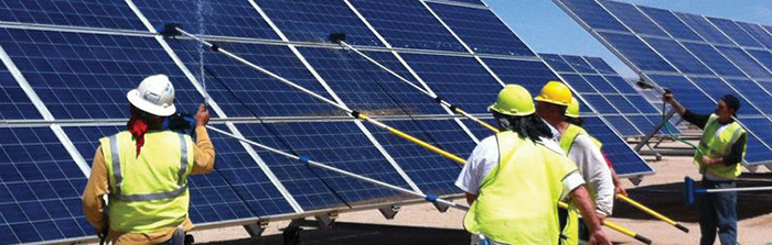 Start A Solar Cleaning Business