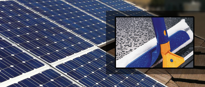 Solar Panel Cleaning Options Cleaning Kit