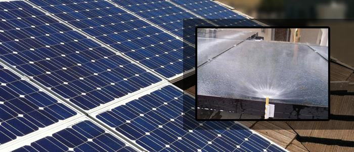Solar Panel Cleaning Options Cleaning System